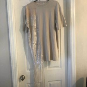 Top With shimmer detailing NWT